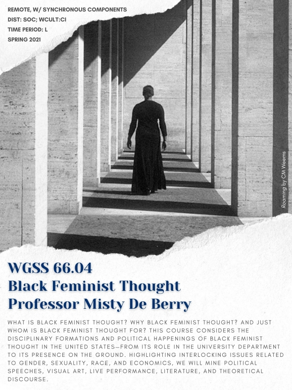 Poster for WGSS 66.04