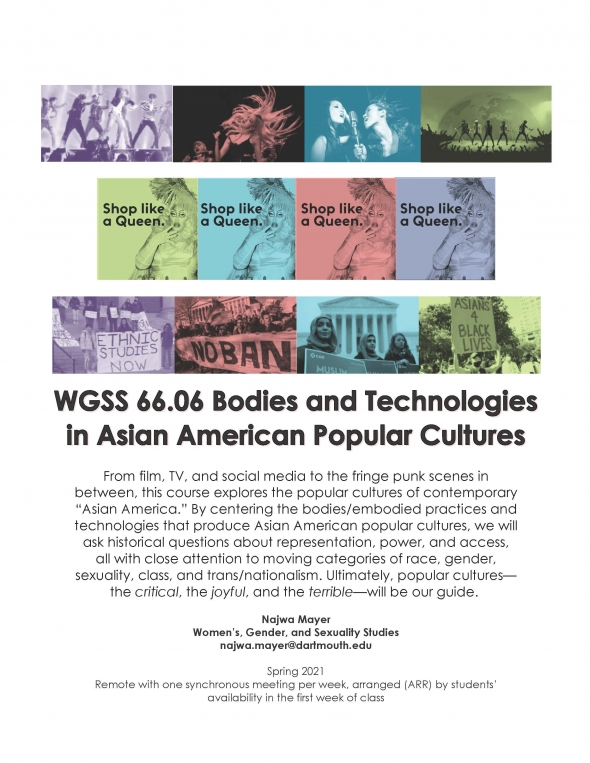 Poster for WGSS 66.06